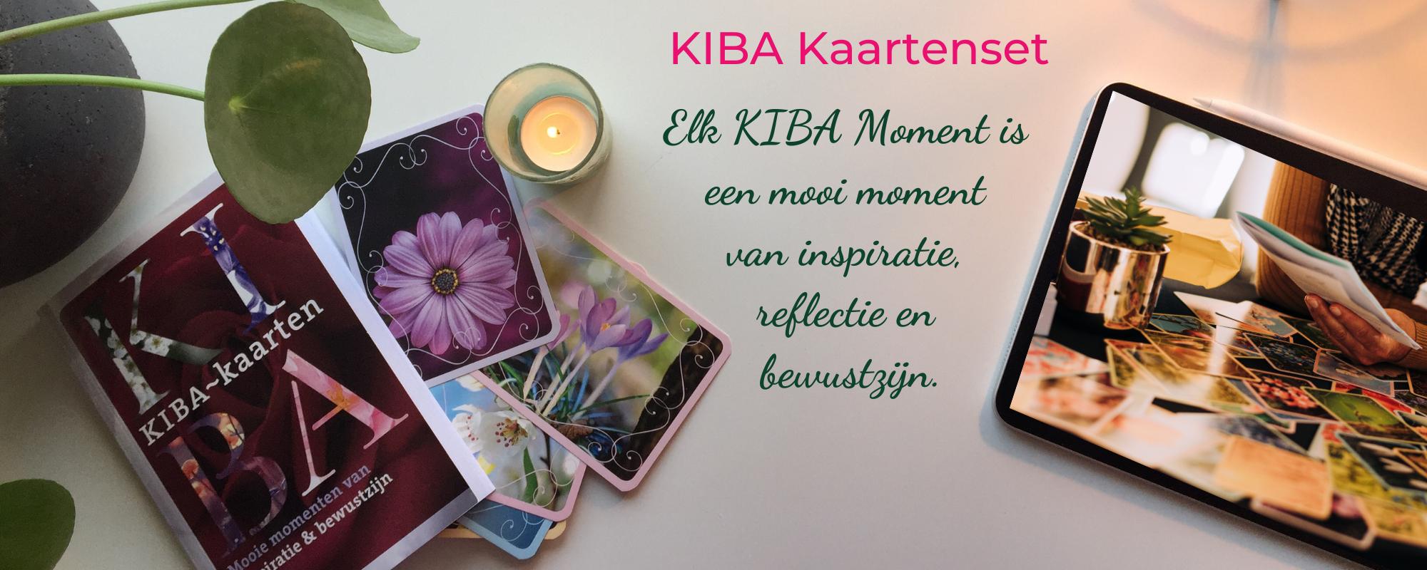 KIBA Kaartenset van Sabine Hess
