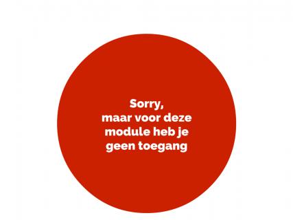 Sorry, geen toegang